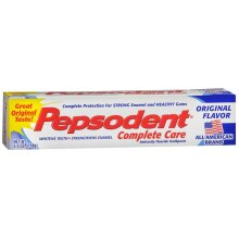 Pepsodent Complete Care Anticavity Fluoride Toothpaste 5.5 oz