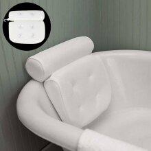 3D Mesh Neck Back Waterproof Luxury Bathroom Bath Spa Pillow Cushion