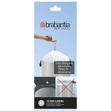Brabantia Bin Liners, Size H, 50-60 L - 10 Bags