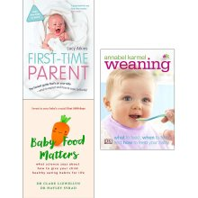 Weaning annabel karmel, first time parent 3 books collection set