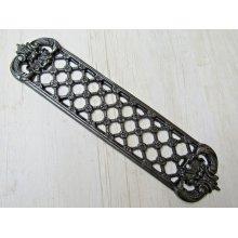 Antique Iron Lattice Finger Plate