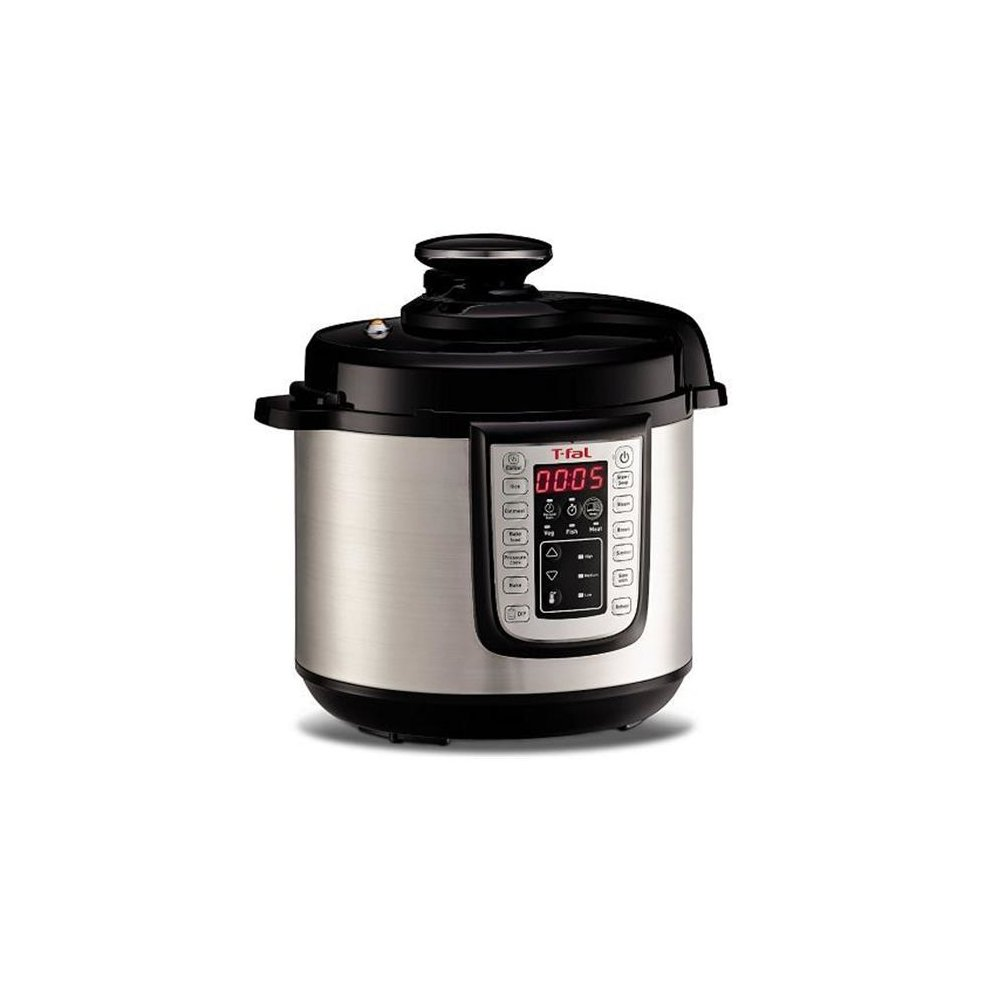 T-Fal-Wearever 220796 6 qt Stainless Steel Power Electric Pressure Cooker