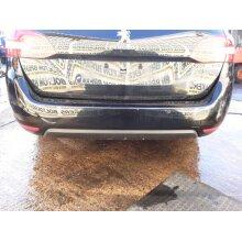 2014-2017 Peugeot 308 Mk2 Estate 5 Door Bumper Bare (rear) Black Ktv - Used