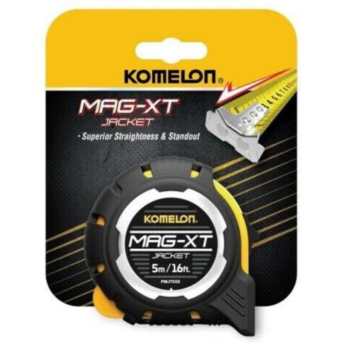 Komelon Mag-XT Nylon Coated Heavy Duty Tape Measure 5m/16ft