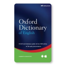 Oxford Dictionary of English smartphone / tablet app - Android and iOS - Lifetime License