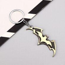 Marvel/DC Metal Keyring - Batman Logo Gold