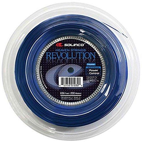 Solinco Revolution Tennis String Reel-Blue-18