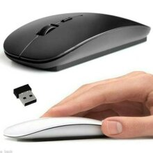 For Windows Apple Macbook Pro Air PC 2.4GHz USB Wireless Optical Mouse Mice