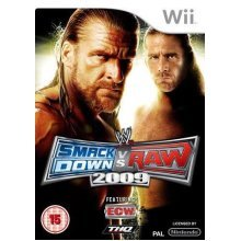 WWE Smackdown vs. Raw 2009 Nintendo Wii Game - Used
