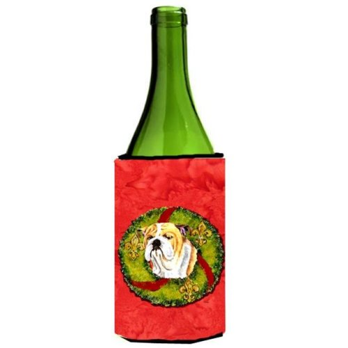 Bulldog English Wine bottle sleeve Hugger