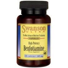 Swanson  Benfotiamine , 160mg - 60 caps
