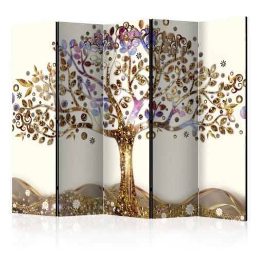 Large Golden Tree II Room Divider | Tree Room Divider