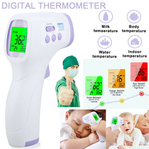 Infrared Forehead Thermometer | No Touch Digital Thermometer