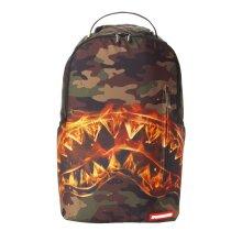 Sprayground Fire Shark Backpack