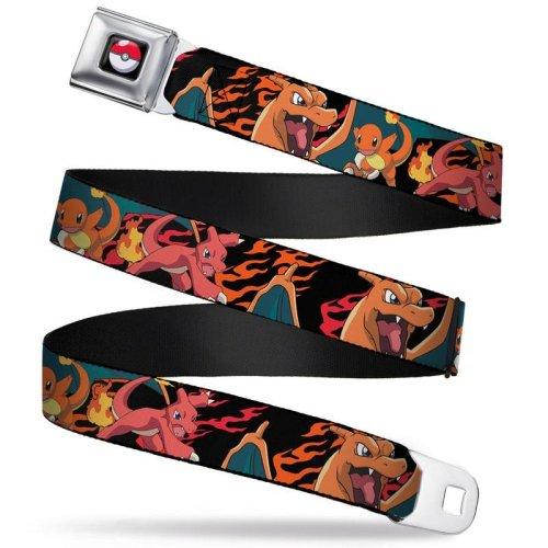 Seatbelt Belt - Pokemon - V.22 Adj 24-38' Mesh New pka-wpk033