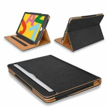 Genuine Leather TAN Magnetic Case Cover 2020/2019 For Apple iPad 10.2 8th/7th Generation