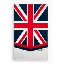 Jack & Co Union Jack Classic Design Tea Towel large Size Cotton