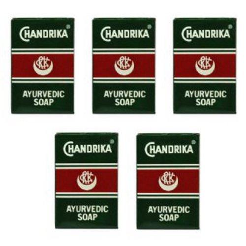 Chandrika Ayurvedic Soap (Pack of 5)