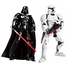 Star Wars Buildable Figure Storm trooper Darth Vader General Action Figure Toy For Kid