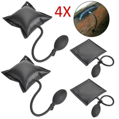 4x Air Wedge Pump Up BagInflatable Automotive Tool Shim Hand Tool Door