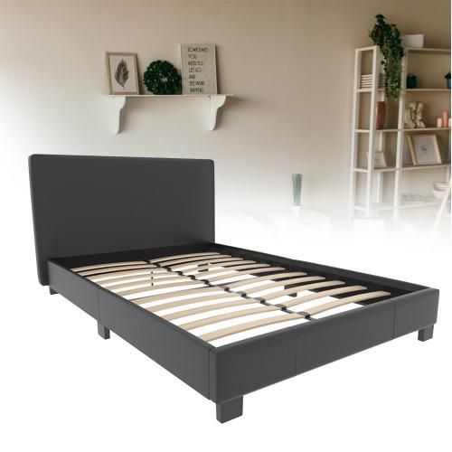 Lisbon Bed Frame Faux Leather Bedroom Bedstead