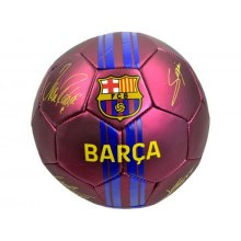 FC Barcelona Metallic Finish Signature Football