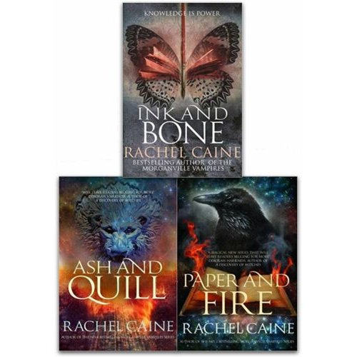 Rachel Caine The Great Library 3 Books Collection Set Young Adult Set