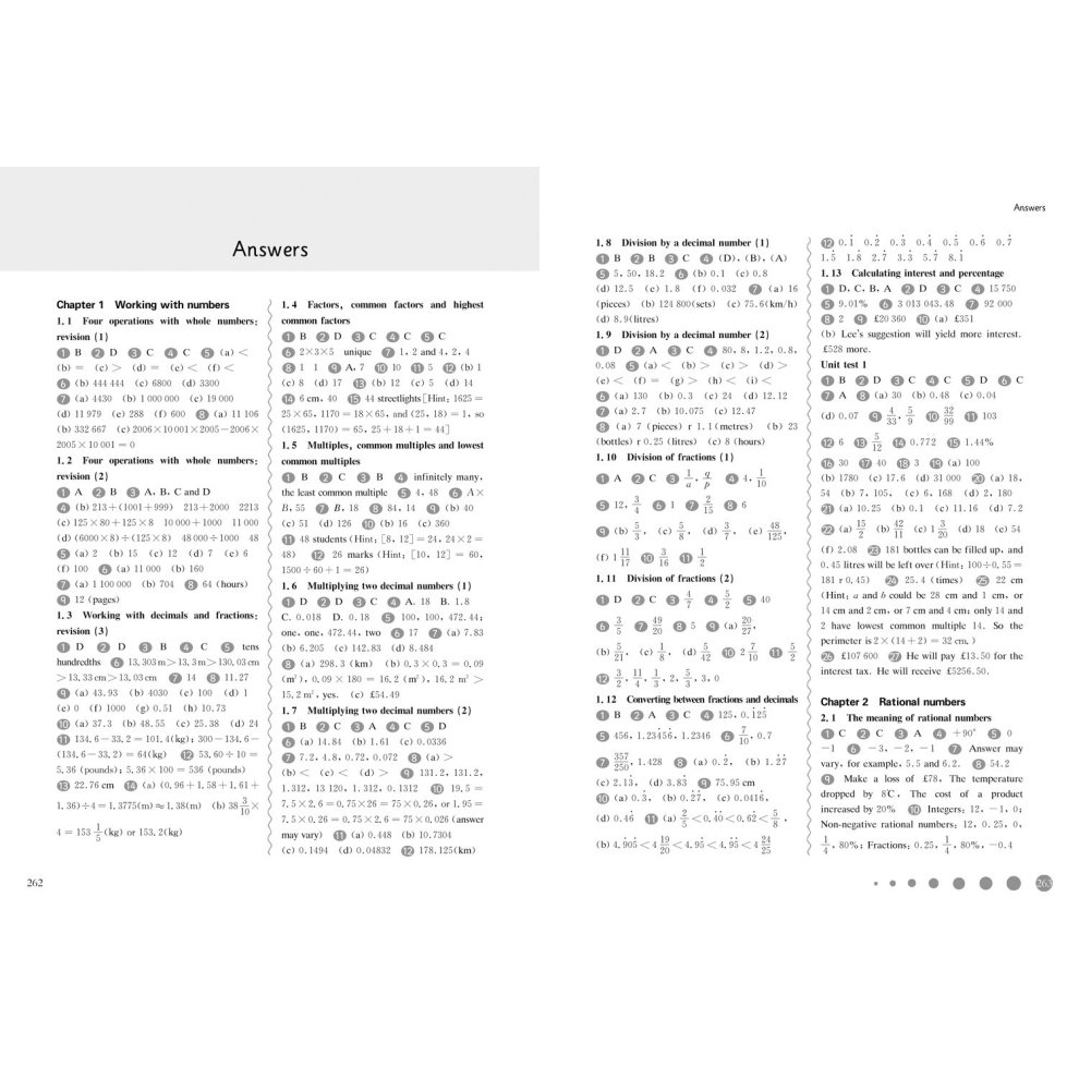 For the English National Curriculum The Shanghai Maths Project Practice Book Year 7 Shanghai Maths