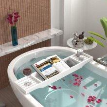 White Bath Caddie