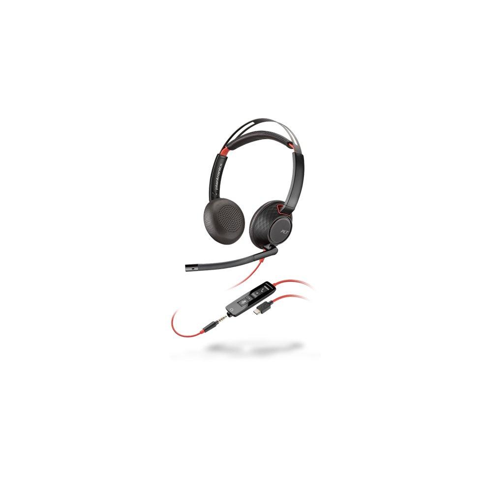 Plantronics Voyager Focus Uc Headset Binaural Head Band Black On Onbuy