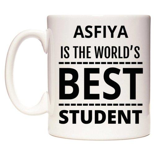 ASFIYA Is The World's BEST Student Mug
