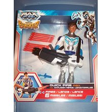 """11"""" QUICK FIRE Max Steel -- Rise of the Elementor figure"""