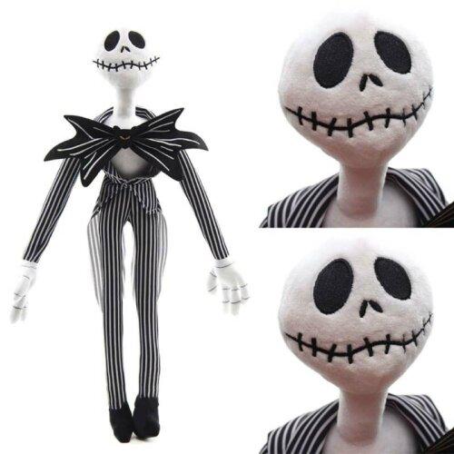 50CM The Nightmare Before Christmas Jack Skellington Sally Plush Dolls Toy Kids Gift