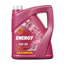 5L Mannol ENERGY 5w30 Fully Synthetic Engine Oil SL/CF ACEA A3/B3 WSS-M2C913-B