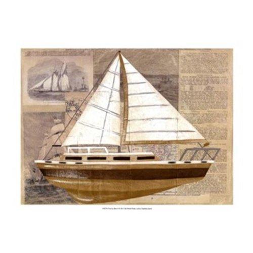 Posterazzi  Tour by Boat II Poster by Chariklia Zarris -19.00 x 13.00