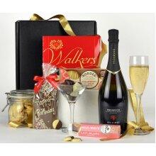 Happy Birthday Gift Box - Birthday Prosecco Gift Hamper