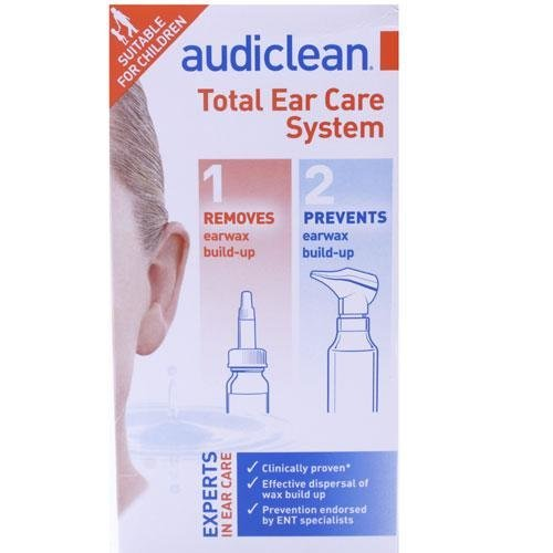 Audiclean Total Ear Care System 100ml