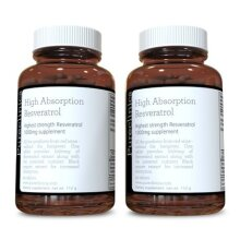 1000mg Resveratrol x 180 tablets(2 bottles of 90 tablets) (6 months supply). 10 x strength plus black pepper extract