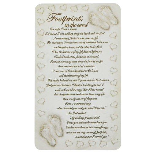 Fridge Magnet Poem Luxury Foot Prints