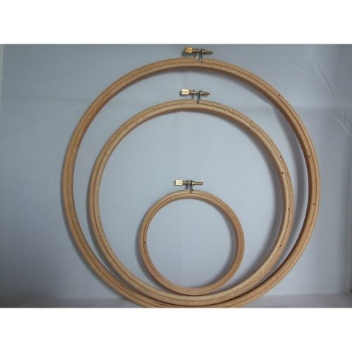 Wooden Cross Stitch / Embroidery Hoop - Choice of Sizes