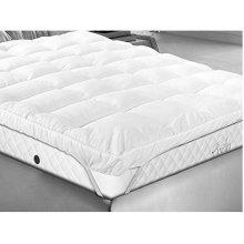 Luxury double thick bounceback microfibre mattress topper
