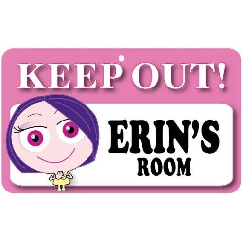 Keep Out Door Sign - Erin's Room
