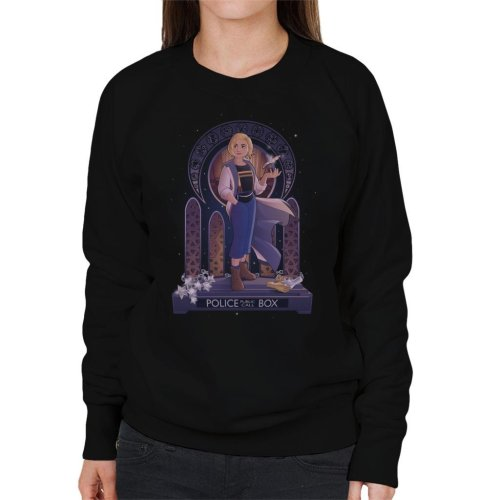 I Am Your Doctor Who Jodie Whittaker Women's Sweatshirt