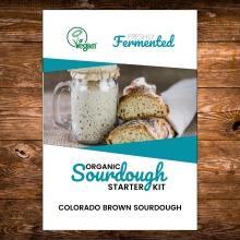 Certified Organic Freeze-Dried Colorado Brown Sourdough Starter