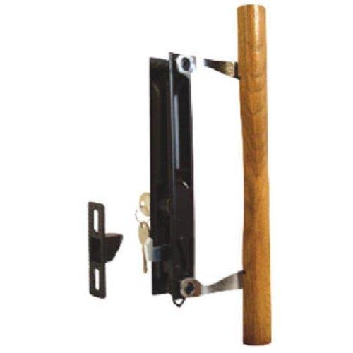 141638 Sliding Glass Door Handle, Black