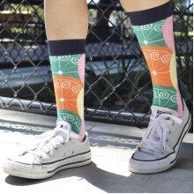 Vibrant Citrus Pattern Sock