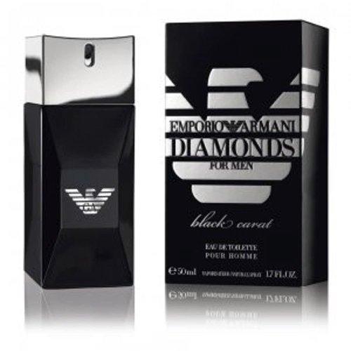 Emporio Armani Diamonds Black Carat For Men 50ml Eau De Toilette Spray