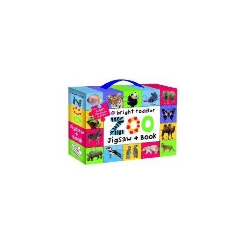 Bright Toddler Zoo Jigsaw Book Se