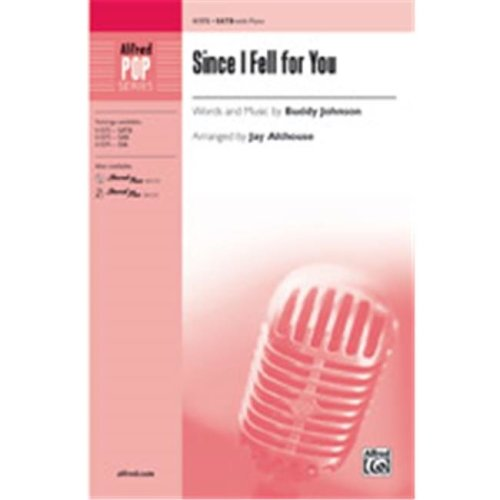 Alfred 00-41575 SINCE I FELL FOR YOU-STRX CD