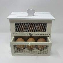 Food Storage/Kitchen/Freestanding - Egg House - Shabby Chic